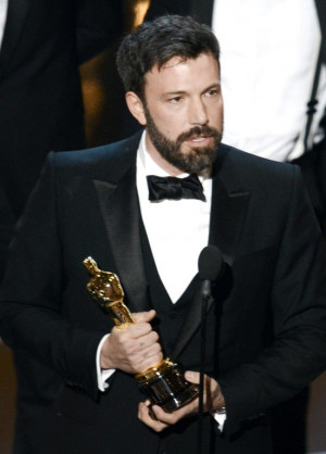 Actor/producer/director Ben Affleck accepts the Best Picture award for ...
