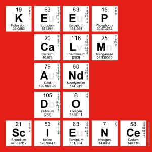 Keep Calm & Do Science!