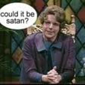 Does Rick Santorum have a Satan problem?