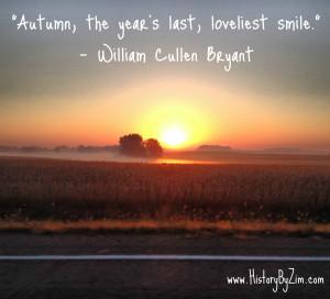 In Their Words – William Cullen Bryant