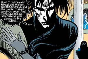 scene from Sandman issue 1, available in The Annotated Sandman from ...