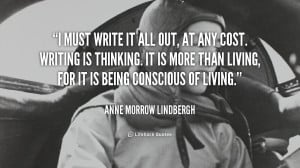 ... . It is more than li... - Anne Morrow Lindbergh at Lifehack Quotes