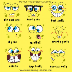 Spongebob Tag Your Friends