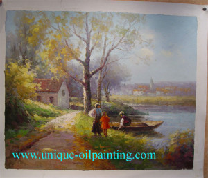 Landscape-Oil-Painting-Impressionism-Oil-Painting-Oil-Painting ...