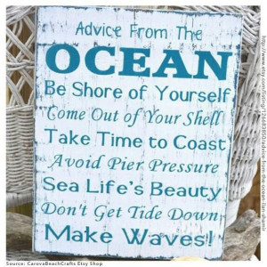 Cool idea for a sign to make..or use in beach vacation scrapbook