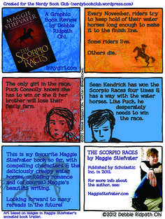 Graphic Book Review of The Scorpio Races by Maggie Stiefvater