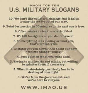 Top 10 US Military Slogans -