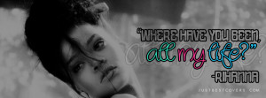 Click to get this where have you been rihanna timeline banner