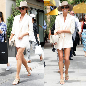 Chrissy Teigen is All Smiles in Beverly Hills MoeJackson