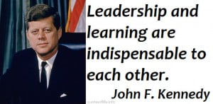 jfk quotes on leadership