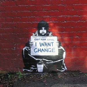Banksy Graffiti Defaced Near Sundance Festival!