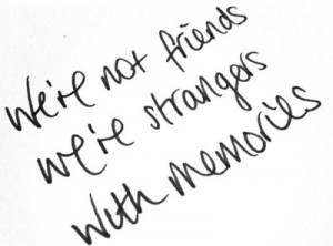 Not Friends Quotes