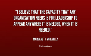 Margaret Wheatley Quotes