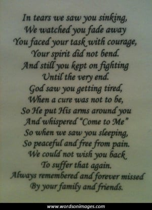 grandma passing away quotes