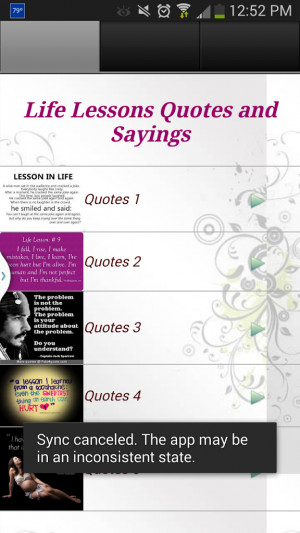quotes and sayings about life lessons