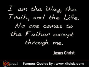 Thread: 15 Most Famous Quotes By Jesus Christ
