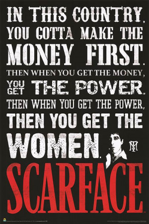 SCARFACE POSTER ]