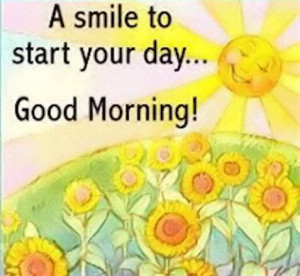 Smile To Start Your Day
