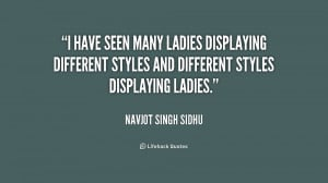 have seen many ladies displaying different styles and different ...