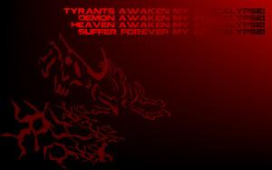 My Apocalypse - Metallica Song Lyric Quote in Text Image