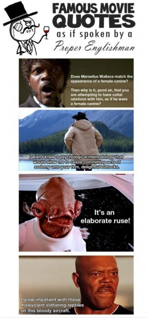 Famous Funny Movie Quotes