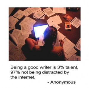 Being a good writer quote