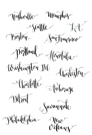 ... to the Art of Modern Calligraphy (Calligraphy I) - Skillshare