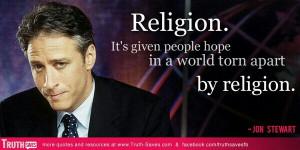 Jon Stewart- so true