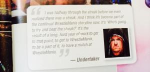 Undertaker, WWE 50