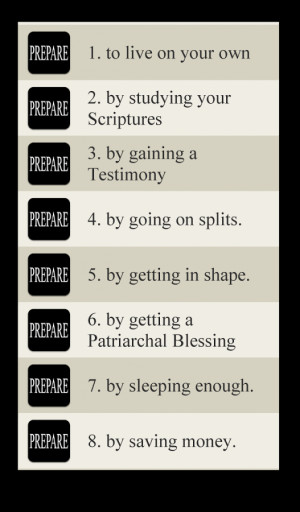 LDS Missionary Prep - screenshot