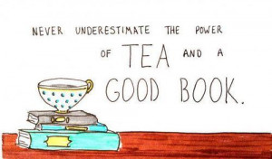 quote quotes book tea