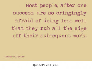 quote about success by beatrix potter create custom success quote ...