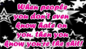 Quotes And Sayings About Haters