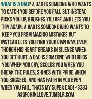 Dad #daddy #family #quote #typography #wisdom #aww