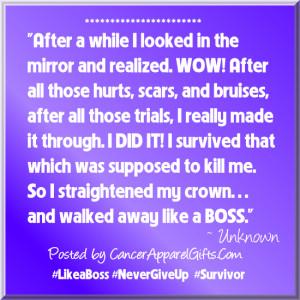 Cancer Survivor Quote Like...