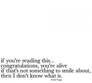 happy, life, live, quotes, smile, text
