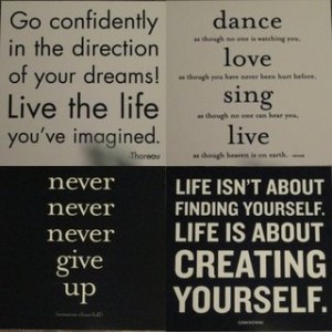 inspitational quotes from a lesson with my mentor posted in ...