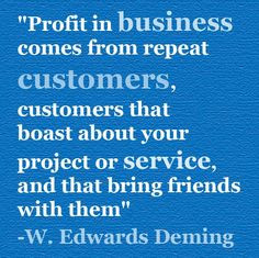 business comes from repeat customers more inspiration business profit ...