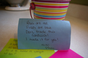 goodies i d love to share the lunchbox love notes
