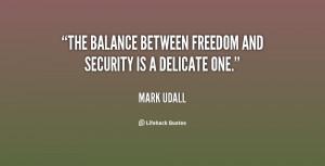 Liberty vs Security Quote