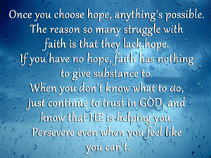 Loved on: www.forsurequotes.com/so-many-struggle-with-faith