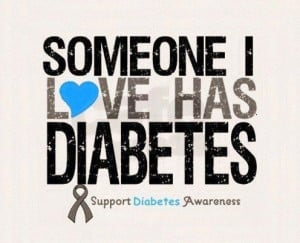 Diabetes jokes are NOT funny. Please reblog if you have someone you ...