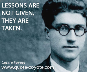 lessons quotes , given quotes , taken quotes , knowledge quotes ...