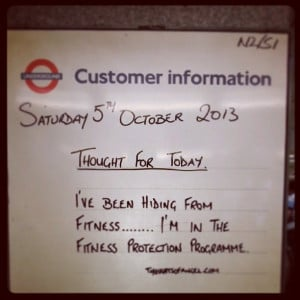 ... up your commute with London Underground's inspirational quotes