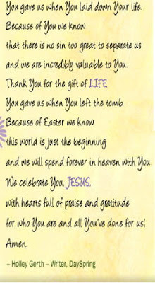 Labels: Easter Sunday , Prayers