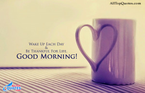 Good Morning Inspiring Quotes with images. Best Lovers Good Morning ...