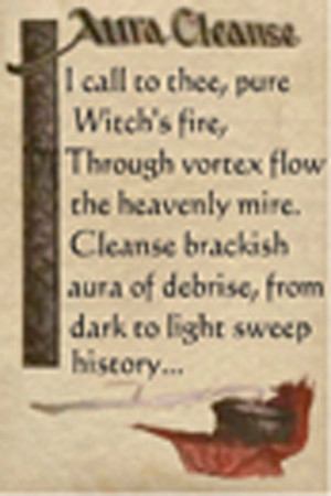 Charmed Wiccan Spell Book - screenshot