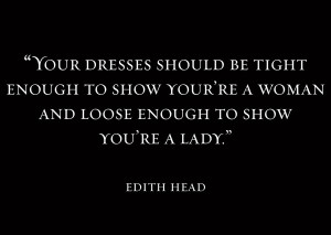 Edith is said to be the inspiration behind designer Edna Mode in The ...