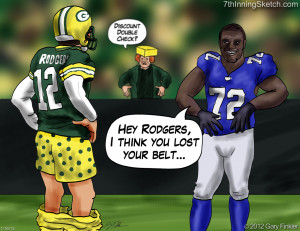 funny green bay packer