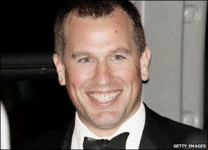Eleventh in line: Peter Phillips (born 1977), son of Princess Anne.